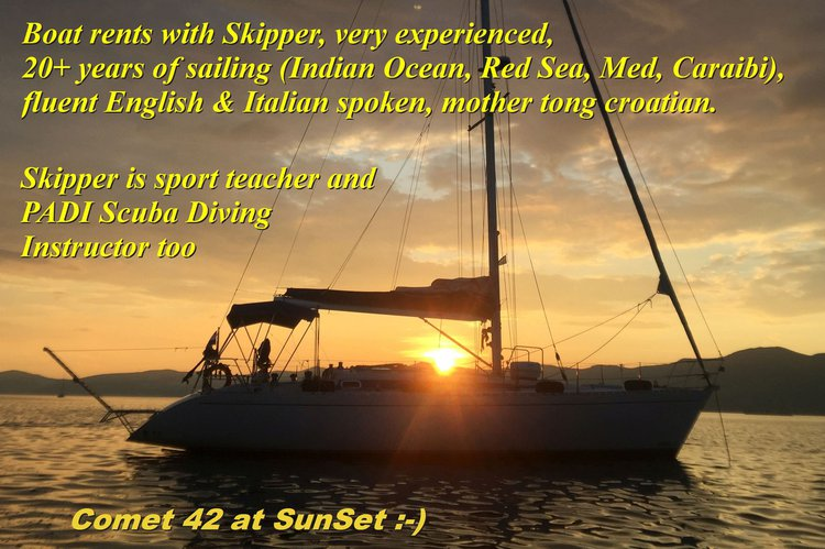 Boat for rent COMAR 42.0 feet in Split, Croatia