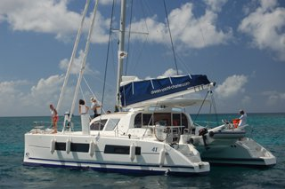 Take some time to relax on water with this beauty    Catana   41 OC
