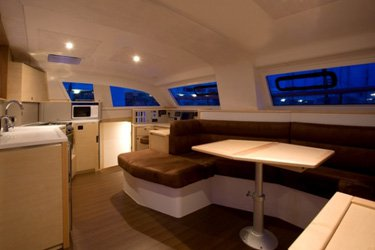 Discover Raiatea surroundings on this 42 CI Catana boat
