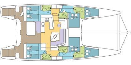 Discover Raiatea surroundings on this 55 Catana boat