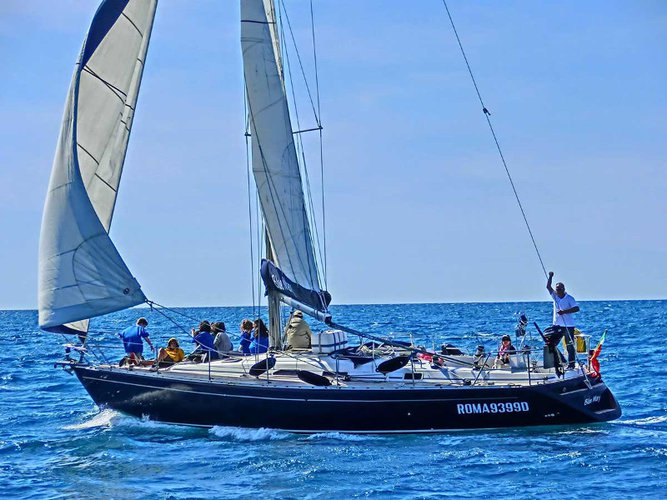 Rent this Comar Yachts Comar Genesi 43 for a true nautical adventure