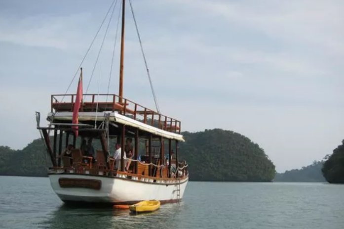 Climb aboard this sail boat for a great experience in Malaysia
