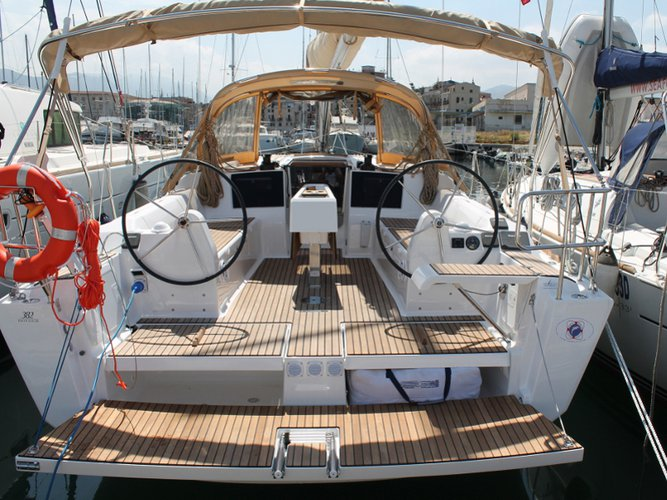 Discover Palermo in style boating on this sailboat rental