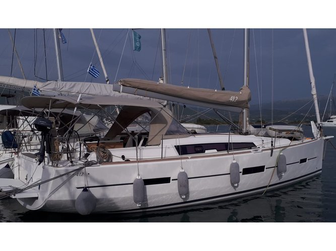 Experience Lefkada, GR on board this amazing Dufour Yachts Dufour 412 Grand large