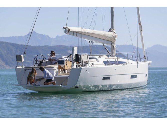 Hop aboard this amazing sailboat rental in Medulin!