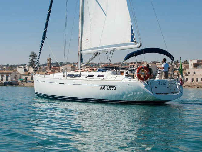Sail Ragusa, IT waters on a beautiful Dufour Yachts Dufour 455 GL