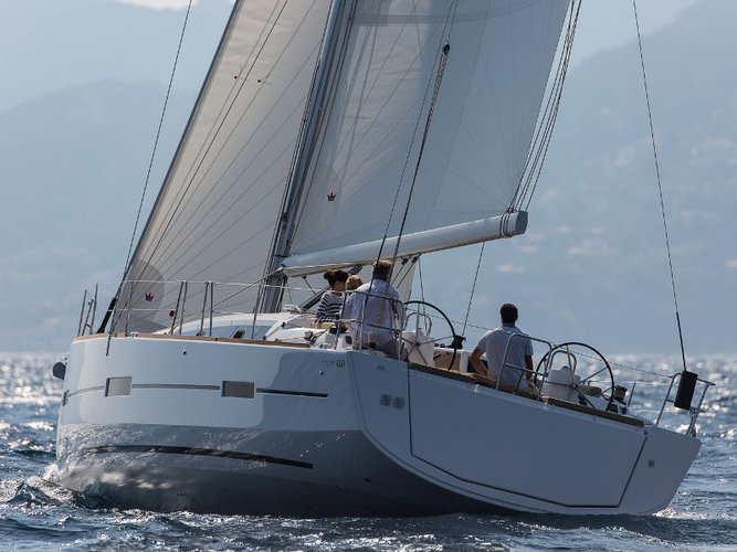 All you need to do is relax and have fun aboard the Dufour Yachts Dufour 460 Grand Large-alotm