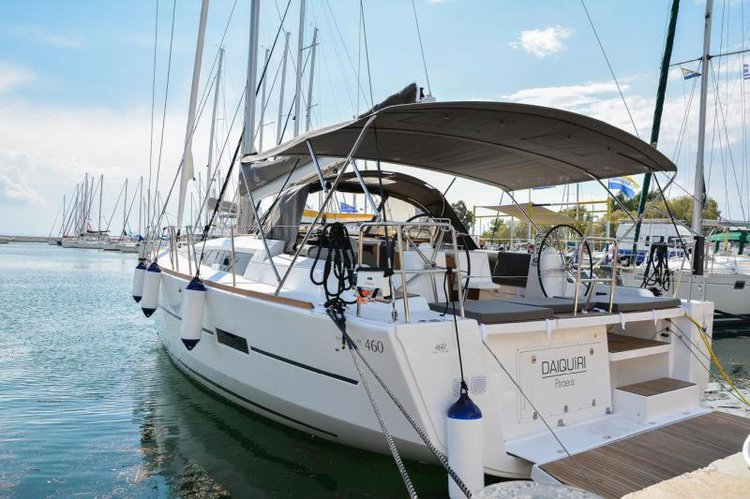 Get on the water and enjoy Athens in style on our Dufour Yachts Dufour 460 GL