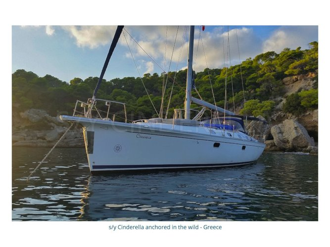 Experience Athens, GR on board this amazing Dufour Yachts Gib Sea 51