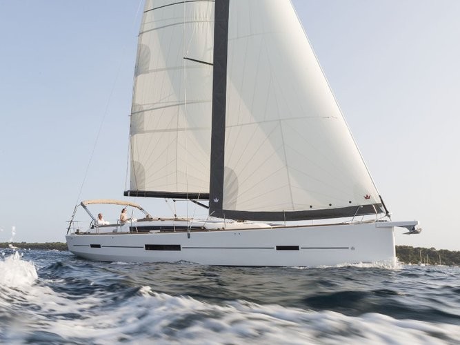 Take this Dufour Yachts Dufour 520 Grand Large for a spin!