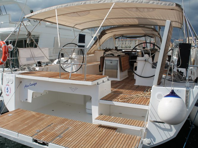 Enjoy luxury and comfort on this Palermo sailboat charter