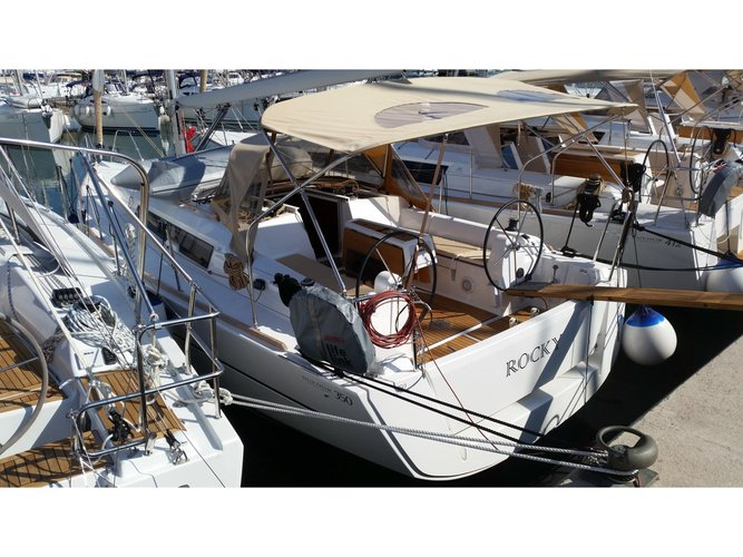 Explore Sukošan on this beautiful sailboat for rent