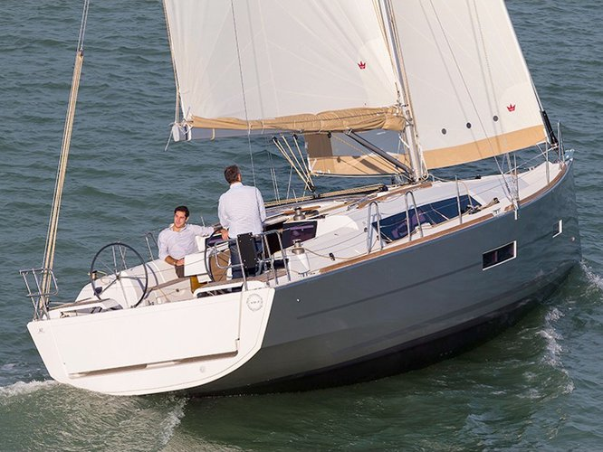 Take this Dufour Yachts Dufour 382 GL for a spin!