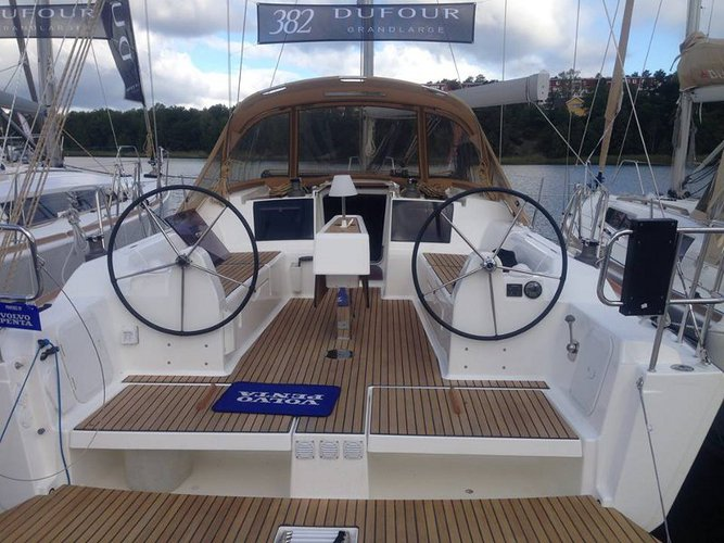 Experience Biograd, HR on board this amazing Dufour Yachts Dufour 382 GL