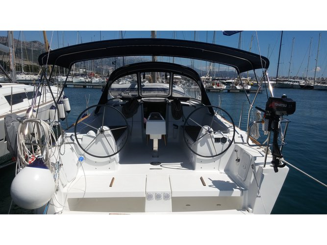 Enjoy luxury and comfort on this Dufour Yachts Dufour 382 Grand Large in Kaštel Gomilica