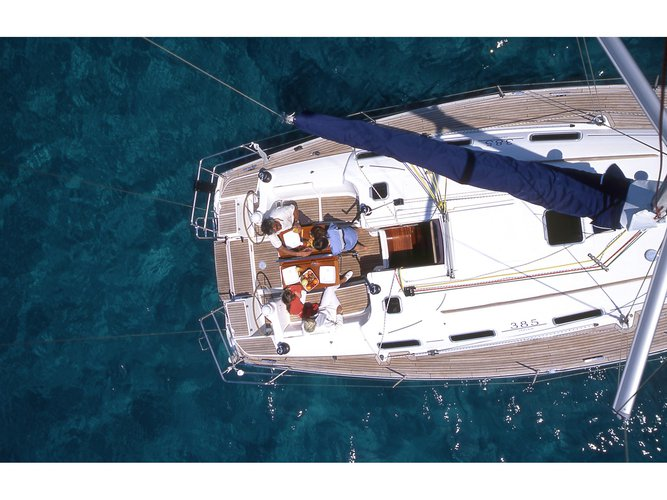 Enjoy luxury and comfort on this Dufour Yachts Dufour 385 in Pula
