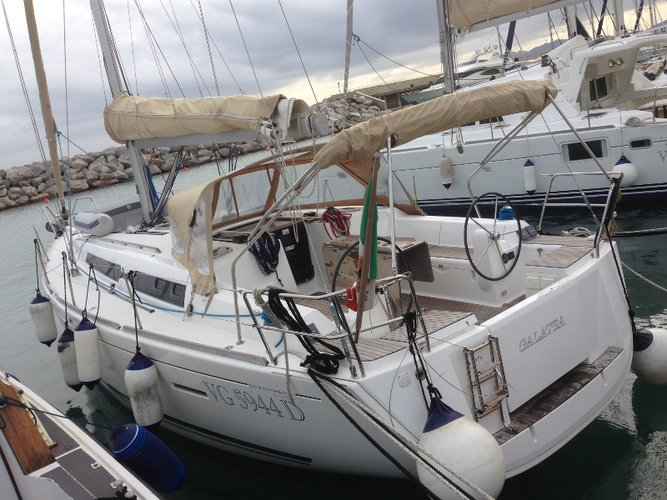 Enjoy luxury and comfort on this Piombino sailboat charter