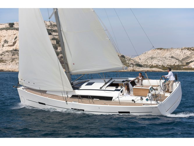 Climb aboard this Dufour Yachts Dufour 410 (3c-1h) for an unforgettable experience