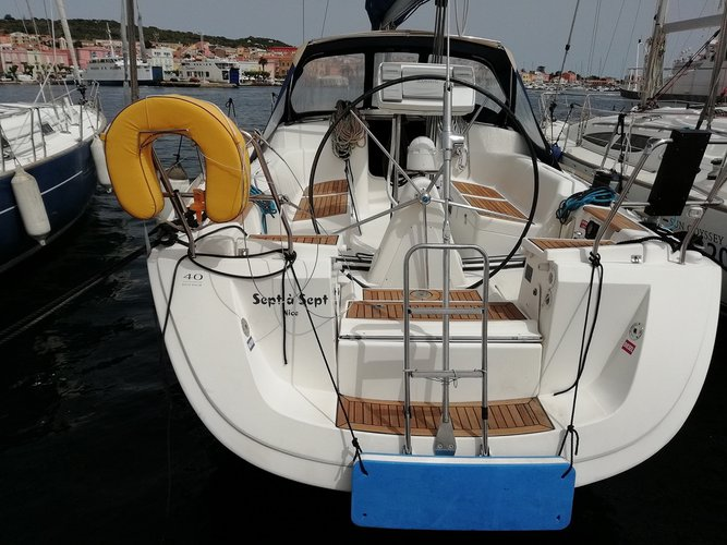 Enjoy Carloforte, IT to the fullest on our comfortable Dufour Yachts Dufour 40