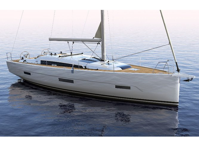 Sail the beautiful waters of Primošten on this cozy Dufour Yachts Dufour 430 Grand Large