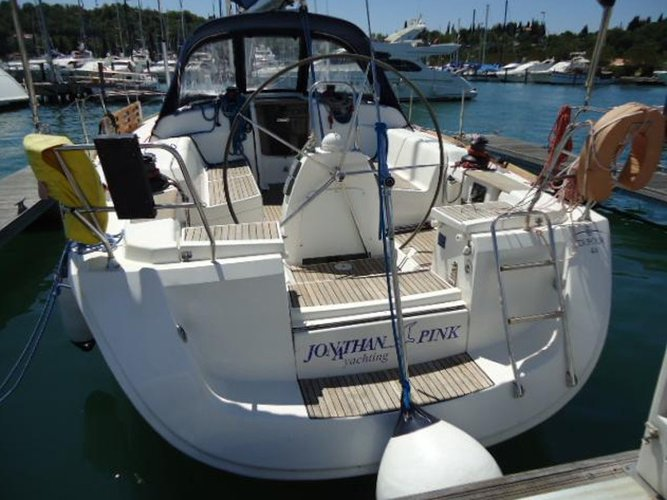 This sailboat charter is perfect to enjoy Portorož