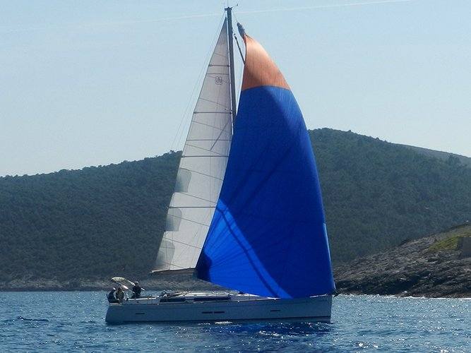 Rent this Dufour Yachts Dufour 445 GL for a true nautical adventure