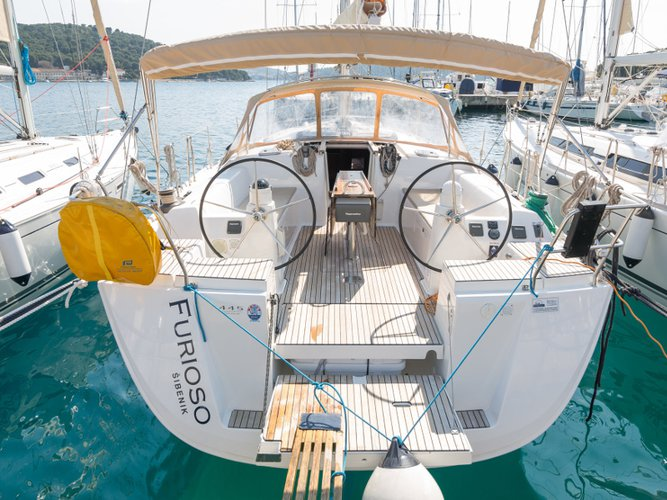 Enjoy Kaštel Gomilica, HR to the fullest on our comfortable Dufour Yachts Dufour 445 Grand Large
