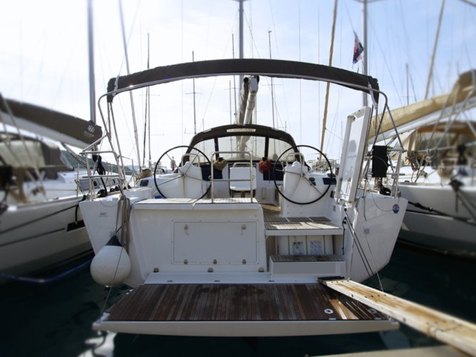 Enjoy luxury and comfort on this Rogoznica sailboat charter