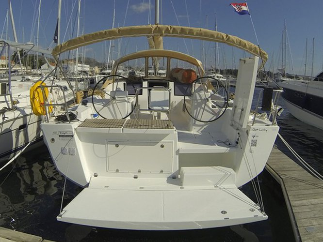 Sail Seget Donji, HR waters on a beautiful Dufour Yachts Dufour 460