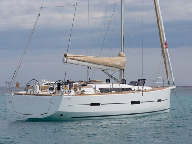 Hop aboard this amazing sailboat rental in Port de Pollença!