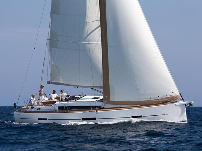Experience Šibenik, HR on board this amazing Dufour Yachts Dufour 460 4 cab