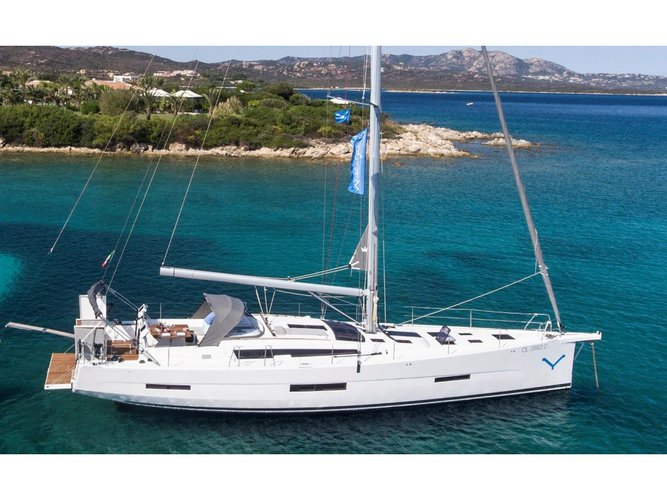 Get on the water and enjoy Portisco in style on our Dufour Yachts Dufour 56 Exclusive 2017