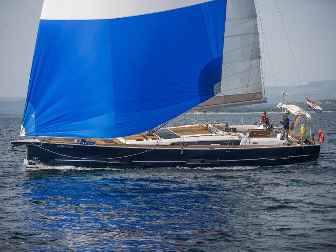 All you need to do is relax and have fun aboard the Dufour Yachts Dufour 560 Grand Large