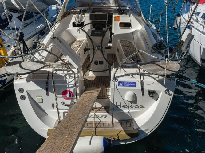 Sail the beautiful waters of Mali Lošinj on this cozy Elan Elan 344 Impression
