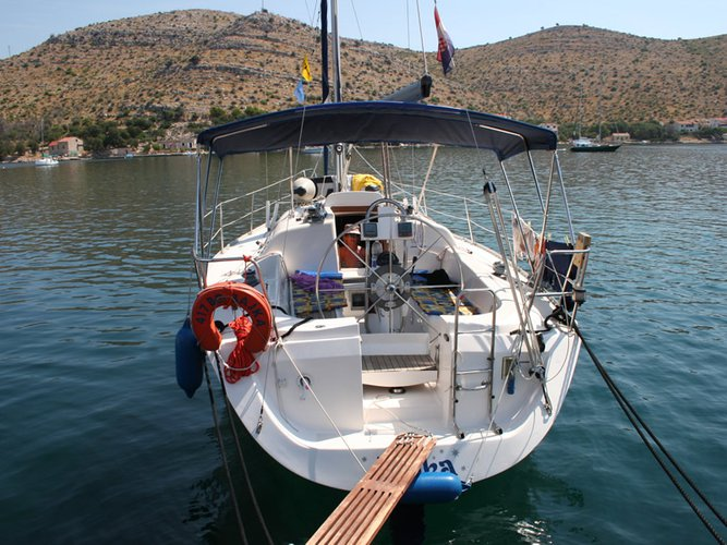 Discover Biograd in style boating on this sailboat rental