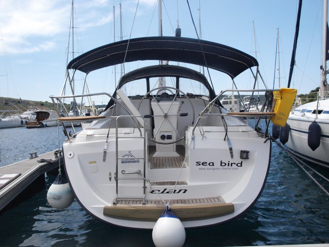 All you need to do is relax and have fun aboard the Elan Elan 344 Impression