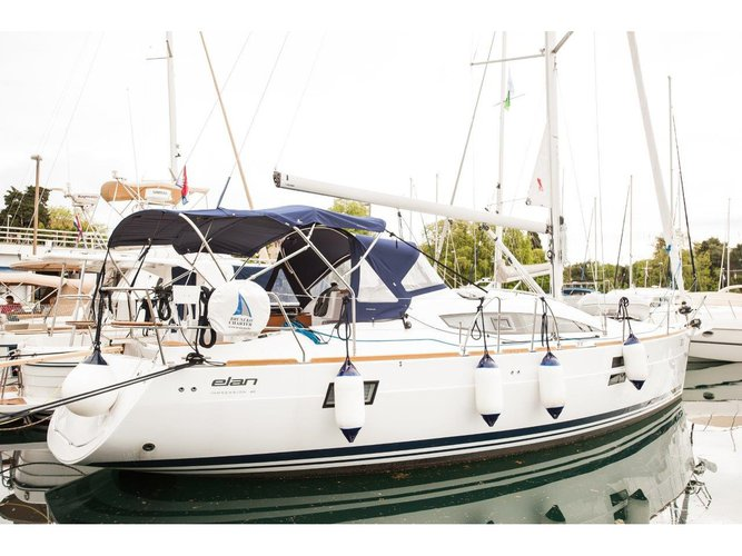 Rent this Elan Elan Impression 40 for a true nautical adventure