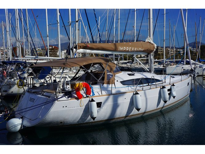 Sail Corfu, GR waters on a beautiful Elan Elan 45 Impression