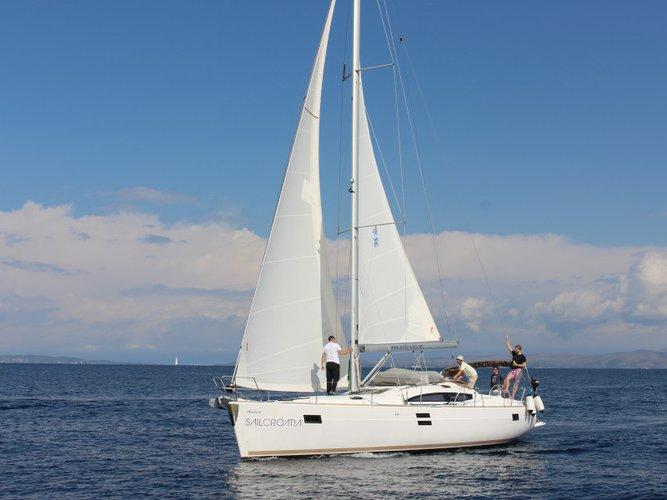 Kaštel Gomilica, HR sailing at its best