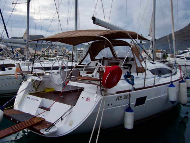 Beautiful Elan Elan 45 Impression ideal for sailing and fun in the sun!