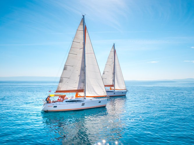 This sailboat charter is perfect to enjoy Split