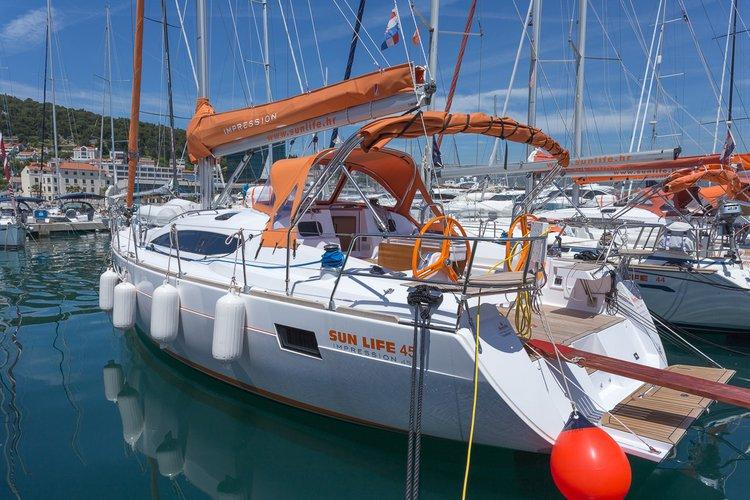 Elan 45 Impression Charter Croatia