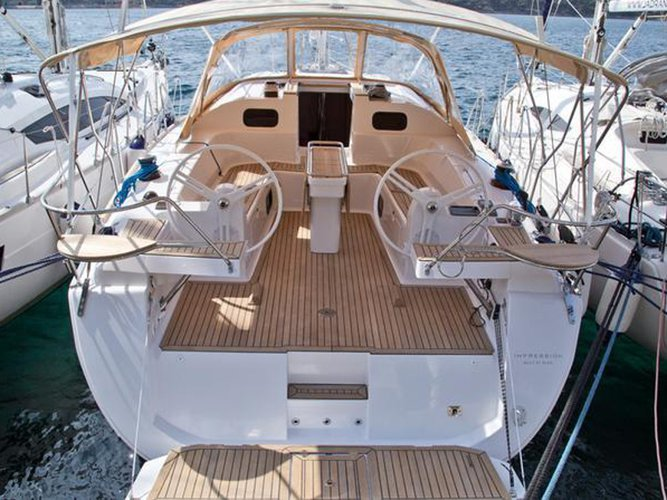 Relax on board our sailboat charter in Biograd