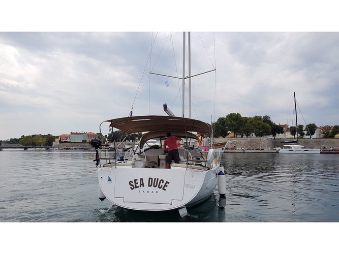 Experience Zadar on board this elegant sailboat