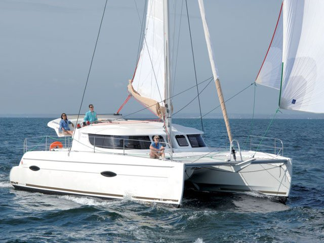 Sail Martinique, MQ waters on a beautiful Fountaine Pajot Lipari 41
