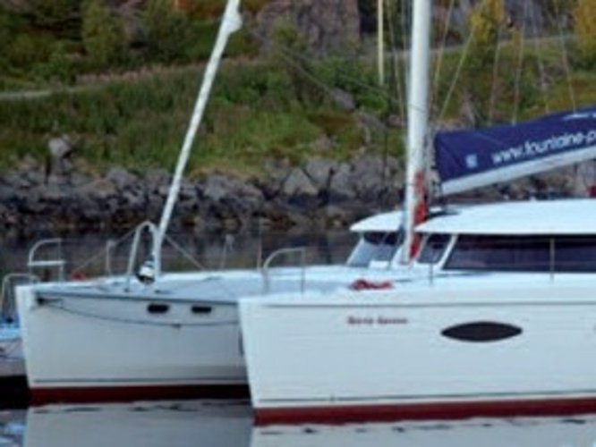 Charter this amazing Fountaine Pajot Salina 48 in Tromso, NO