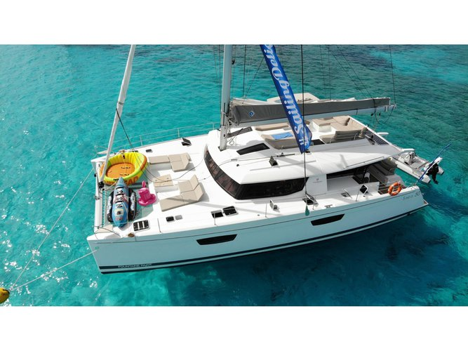 Charter this amazing sailboat in Olbia