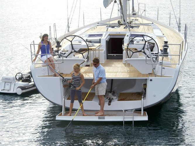 Enjoy luxury and comfort on this Hanse Yachts Hanse 575 in Palma de Mallorca