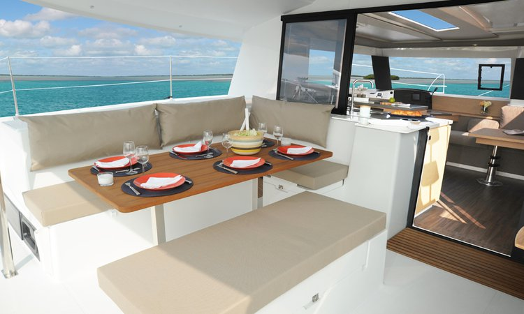 Catamaran boat rental in Compass Point Marina, VI