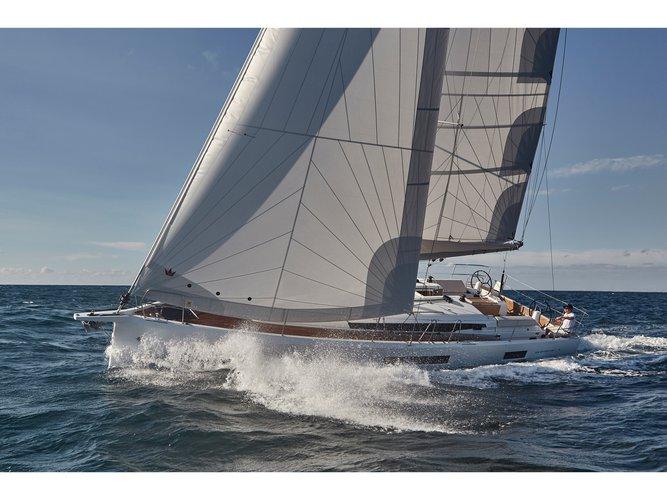 Charter this amazing Jeanneau Sun Odyssey 440 in Orhaniye, TR